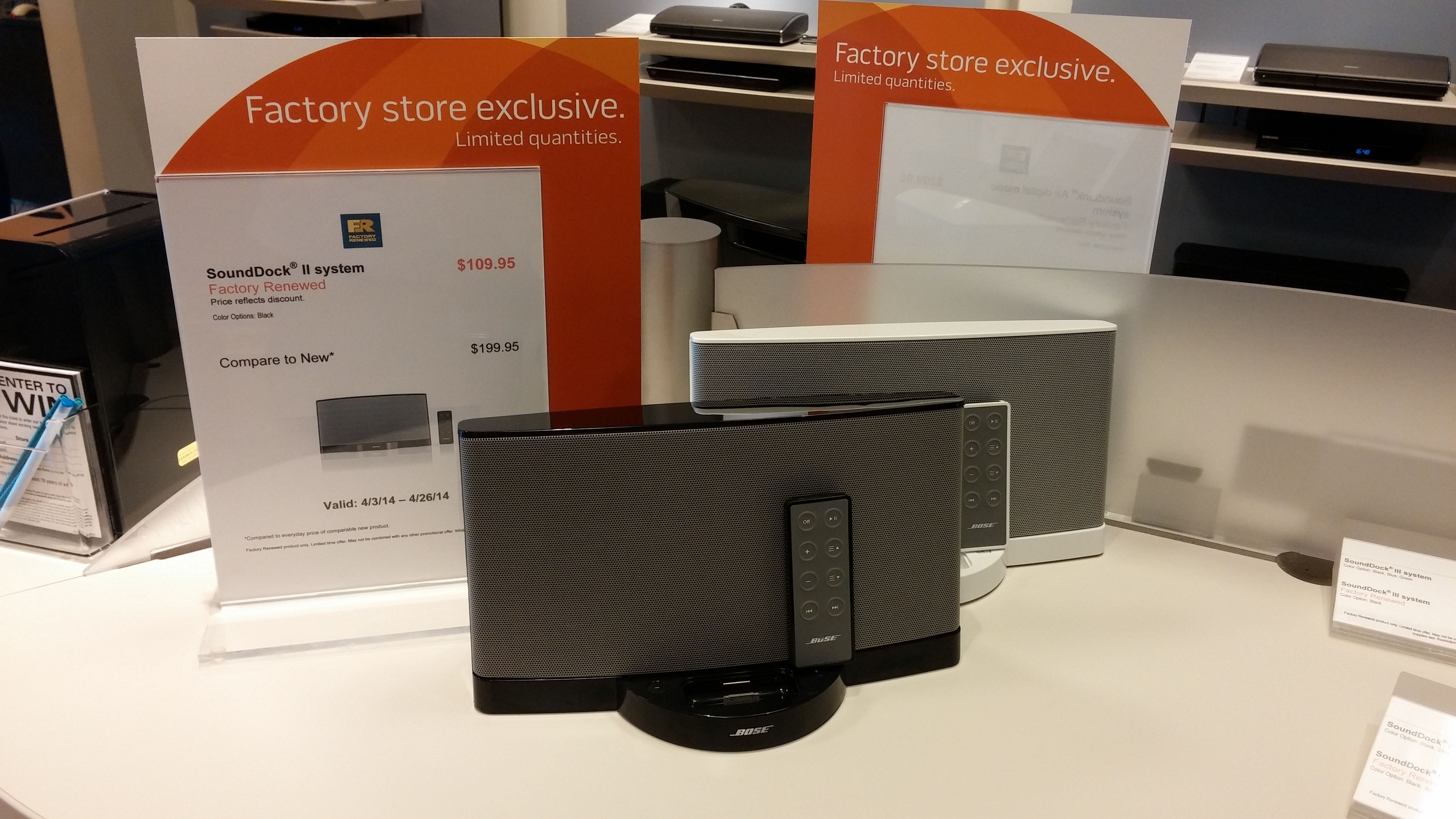 Nifty Sound Dock System From Bose Would Be Perfect For The Office