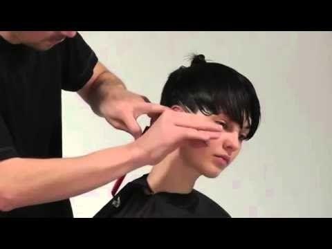 Super Vidal Sassoon Mens Hair Cutting Techniques Youtube Videos Short Hairstyles Gunalazisus
