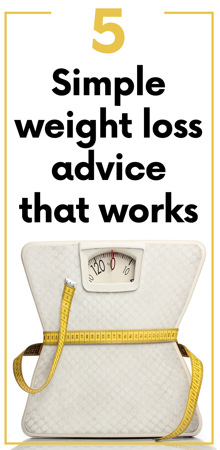 How to lose weight with 5 simple secrets