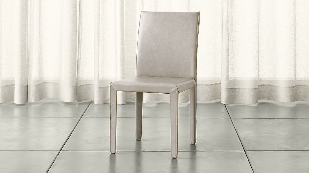 Folio sand topgrain leather dining chair reviews