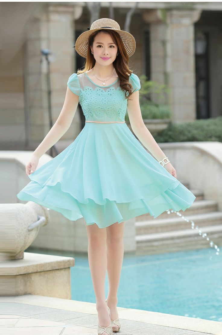 600ef6e454164 The Best Colors for Your Skin Tone | Fashion | Dresses, Chiffon ...