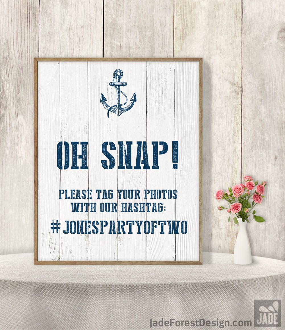 Wedding Hashtag Sign / Instagram Sign / Social Media