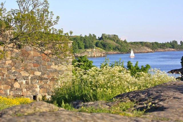 Suloinen sunnuntai Suomelinnassa