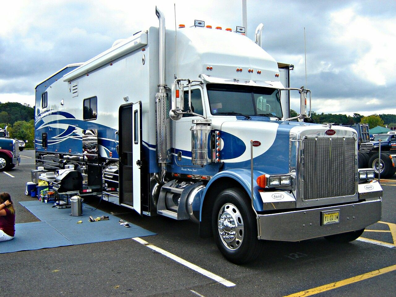 Peterbilt custom 379 RV | Petebilt Rv | Pinterest ...