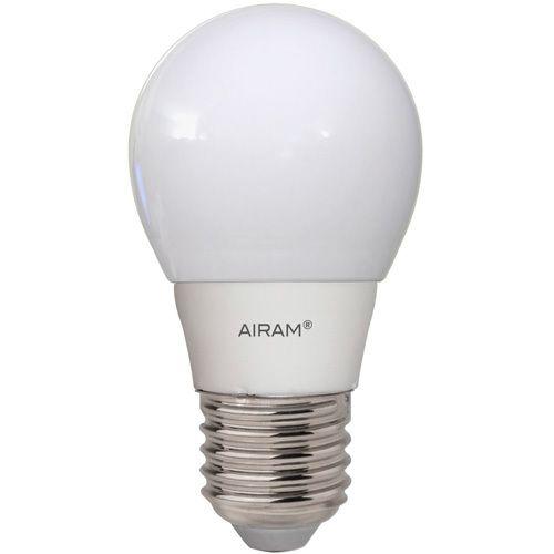 Airam LED 5W E27 330lm 2kpl   Motonet Oy, näitä tai pienikantaisia pyöreitä tai suippoja ;)
