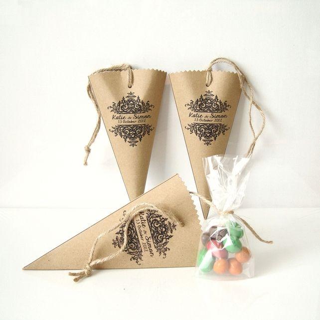 Sweet Cones - Wedding Favors