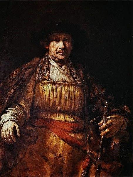 Rembrandt Harmenszoon van Rijn: Self Portrait