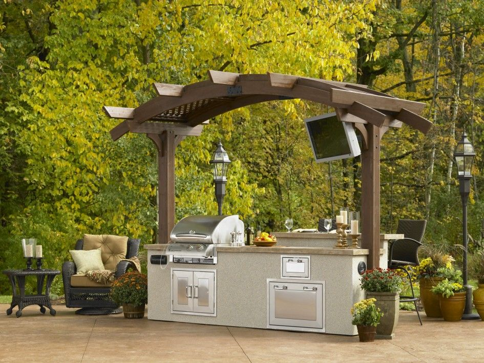 The Outdoor BBQ Island   Sonoma Available At Living Outfitters. Start Your  Backyard Soiree In Style With This Classy BBQ Island.