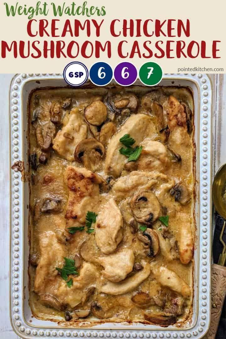 Creamy Chicken Casserole | Weight Watchers