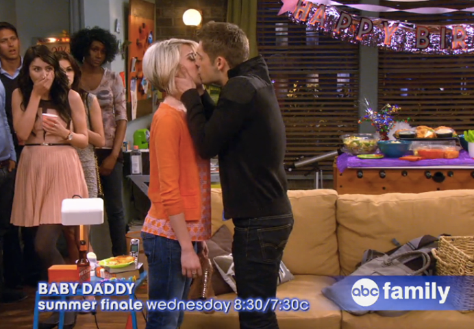 Summer Finale of Baby Daddy! Ben and Riley