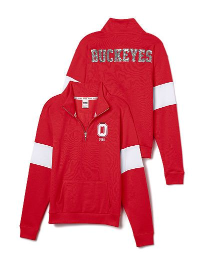 The Ohio State University Bling Pullover Hoodie - PINK ...