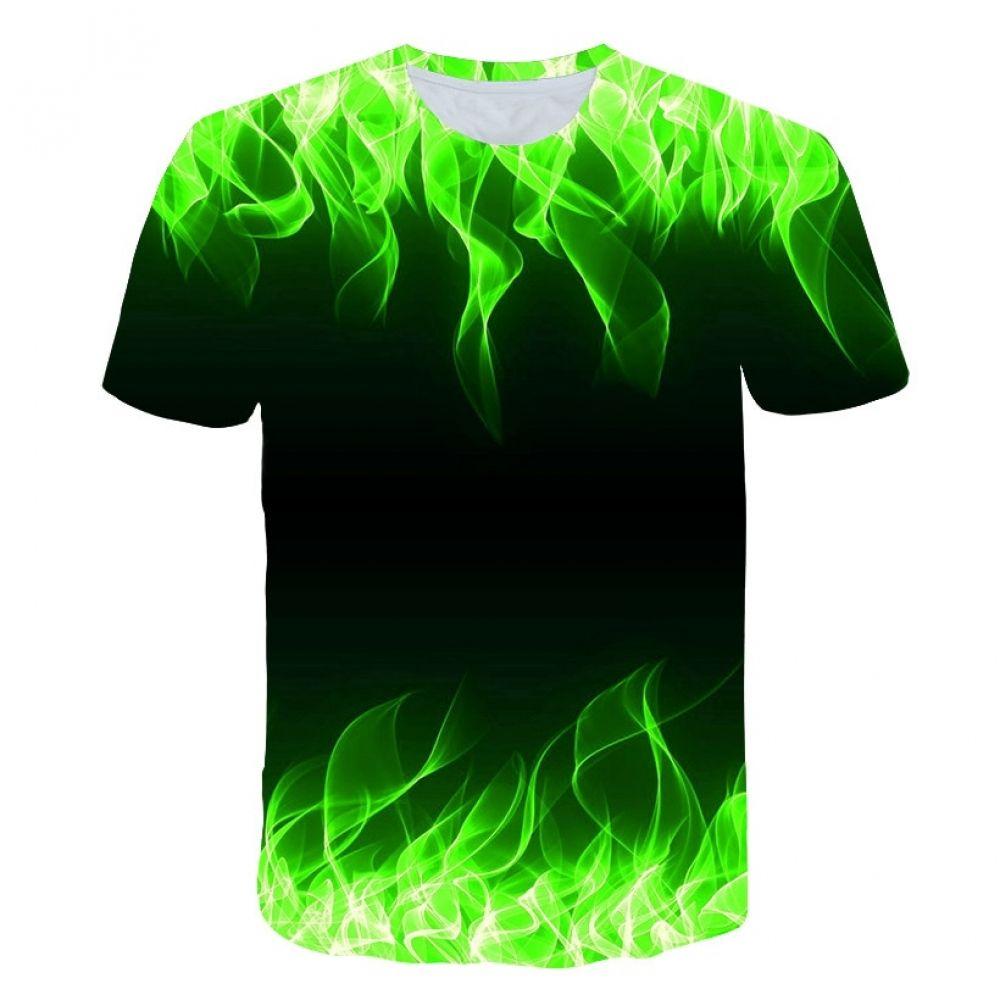 Nueva Camiseta De Verano Para Hombre Con Cuello Redondo Manga Corta Azul Llama 3d Impreso De Alta Calidad 2019ht Camisetas Estilo De Ropa Hombre Ropa De Hombre
