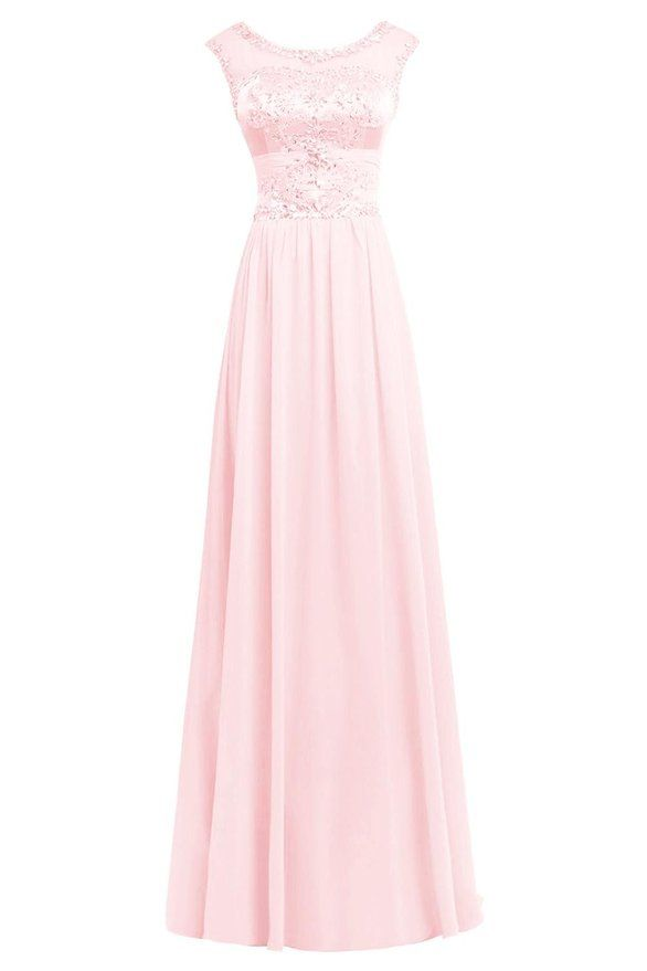 ORIENT BRIDE Generous Crystal Evening Party Prom Dress for Women Size 2 US Blushing Pink