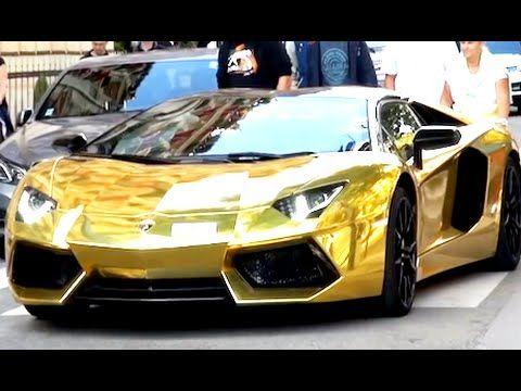 Dubai Uae World 39 S Most Expensive Cars Gold Lamborghini Gold Lamborghini Most Expensive Car Expensive Cars