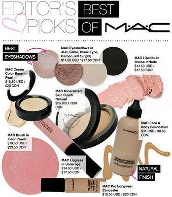 Natural make up by MAC