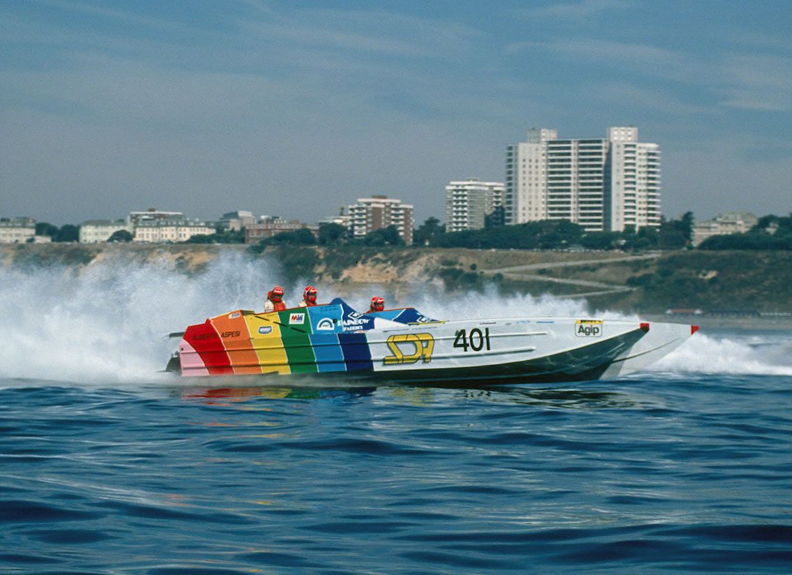 SDA (1989) Power boats, Boat, Offshore