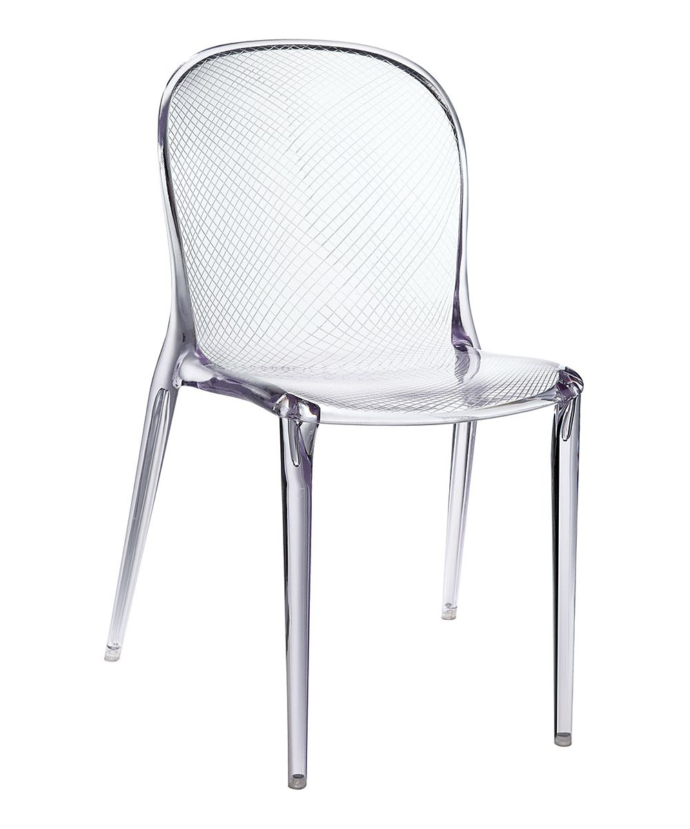 Clear Perspective Dining Side Chair