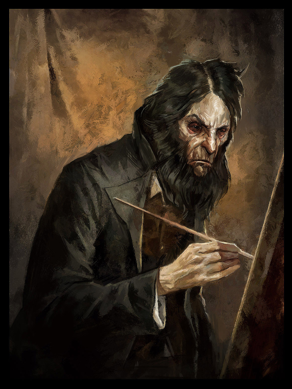 Anton Sokolov Sokolov S Paintings Self Portrait Art Dishonored
