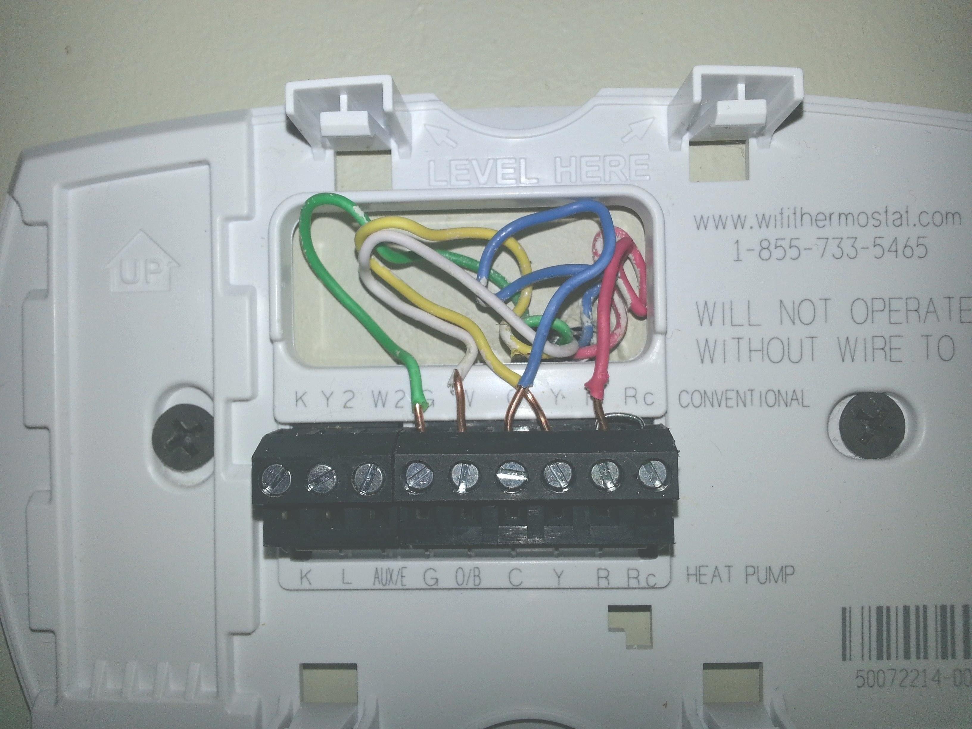 Awesome Honeywell Focuspro 5000 Wiring Diagram Honeywell Wifi Thermostat Heater Thermostat Thermostat Wiring