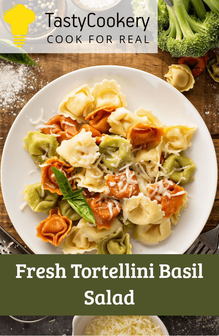 Fresh Tortellini Basil Salad images