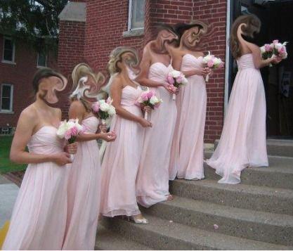 Bill Levkoff Petal Pink Dresses