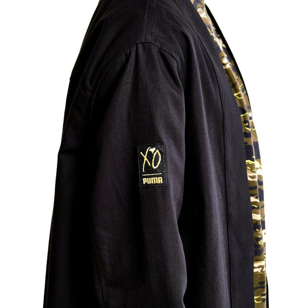 Men S Puma X Xo Kimono Jacket Canvas Denim The Weeknd Tl34115 Black Medium 275 Nike Kimono Kimono Jacket Jackets Black Media [ 1000 x 1000 Pixel ]