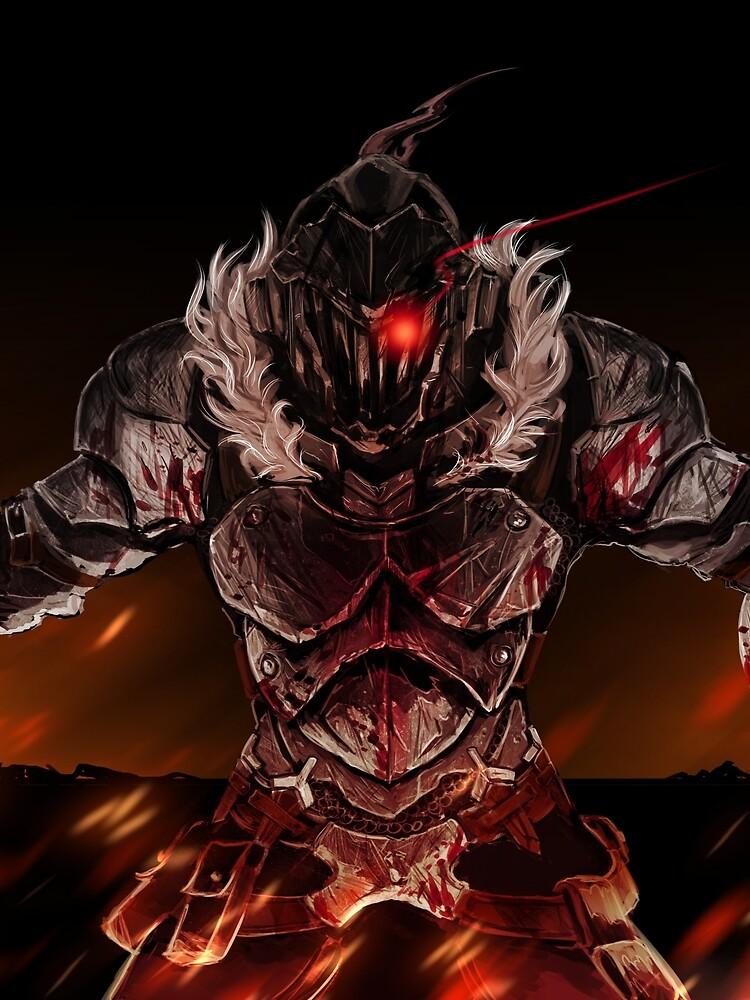 Goblin Slayer The Goblin Slayer T Shirt By Lawliet1568 Redbubble In 2020 Slayer Anime Dark Anime Goblin