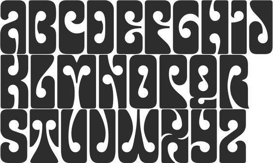 Alphabet Psychédélique afbeeldingsresultaat voor psychedelic letters | wfv | pinterest | la