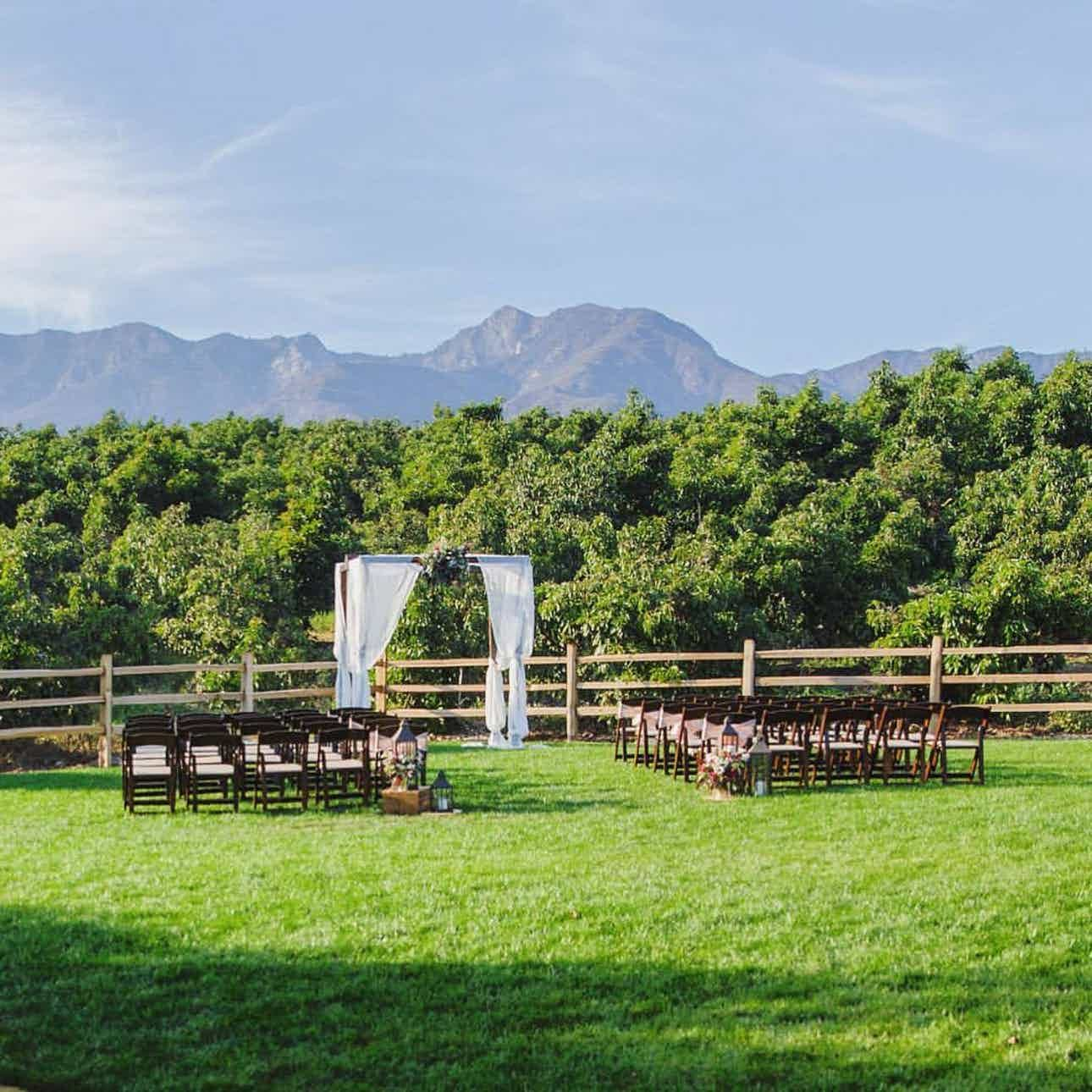 Ranch Wedding Venue Ventura Private Estate Bella Vista