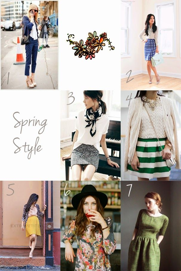 Florals for spring: groundbreaking Some springtime inspiration... #style #spring #fashion