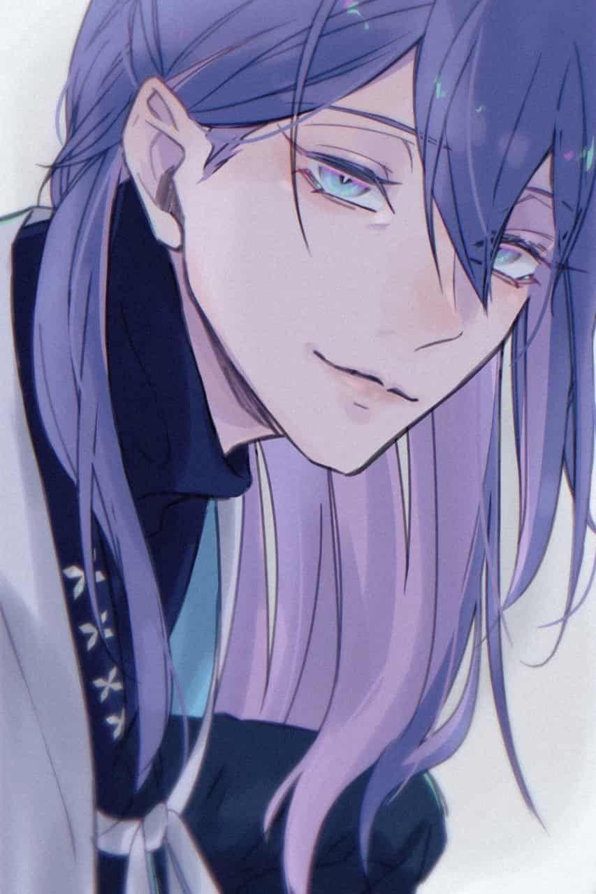 Pin By Nena On ش In 2020 Anime Long Hair Handsome Anime Guys Anime Guy Long Hair