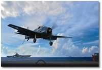 David McCampbell Hellcat (Day) by Ron Cole (F6F)
