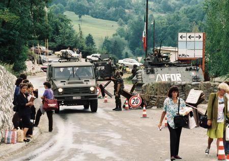 Ifor Press Tour In Tuzla Sarajevo Zagreb Sarajevo Bosnian War Bosnia