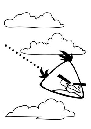 ausmalbild angry birds zum kostenlosen ausdrucken und