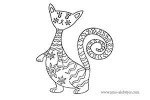 This is a photo of Lively Alebrijes Coloring Pages
