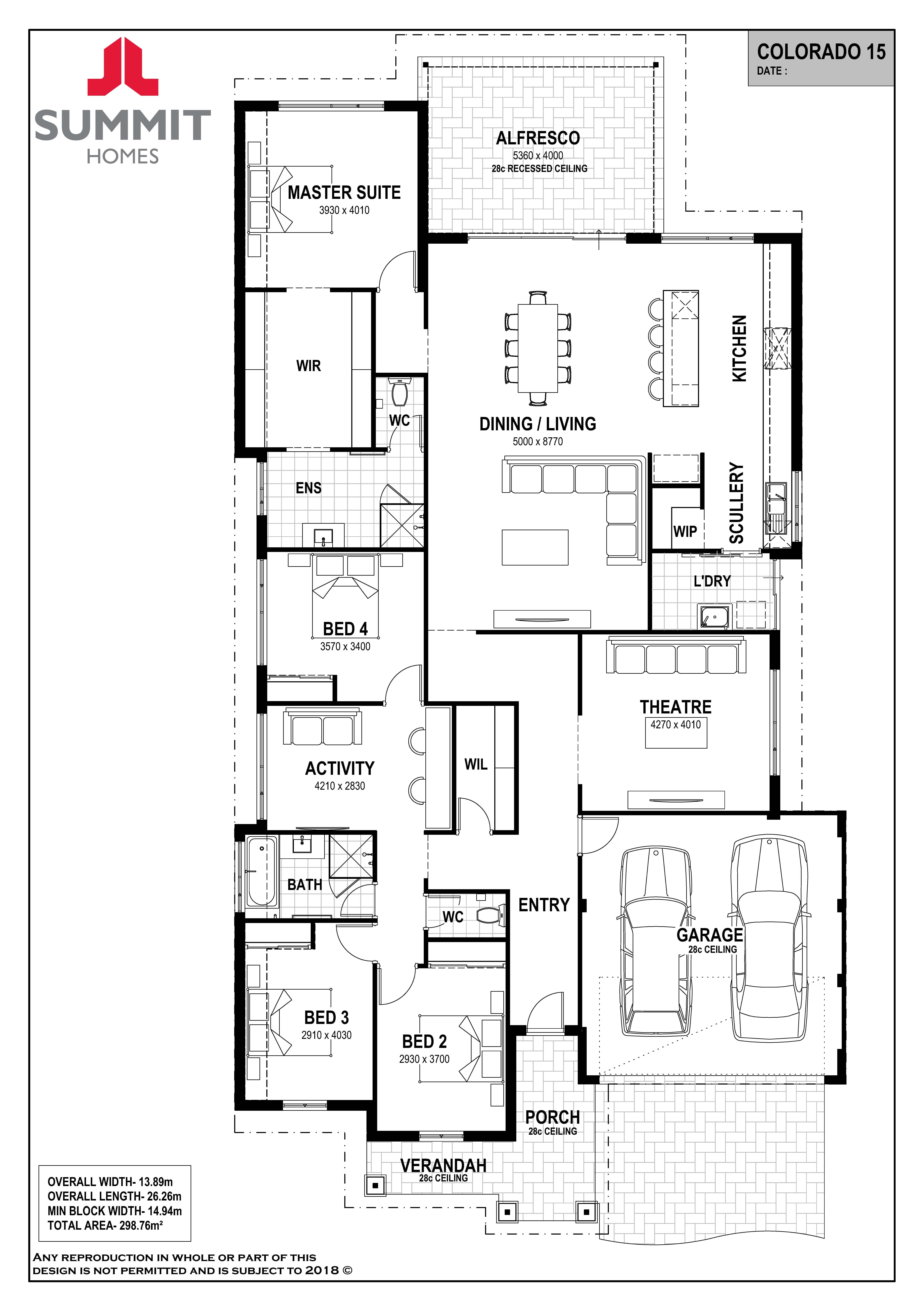 Colorado 15 House Plans Australia Dream House Plans House Floor Plans