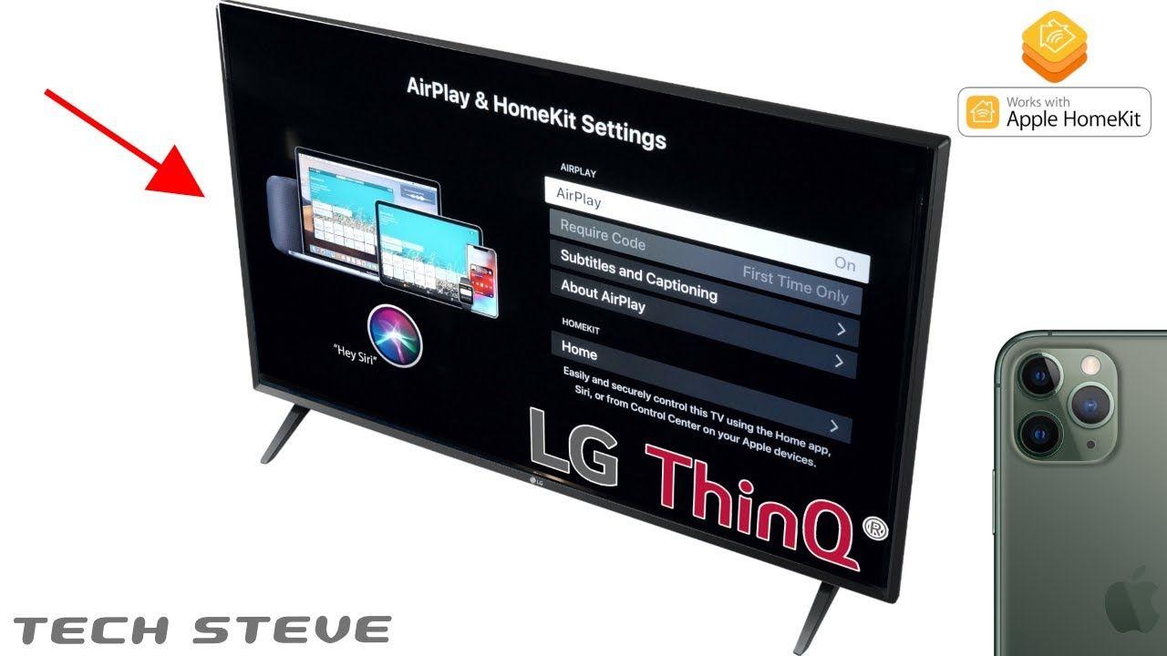 Hey Siri Turn On My Lg Thinq Tv Turn On Me Apple Homekit Kit Homes