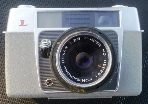 Vintage, Retro Konica L Camera.Made in Japan.  Very good condition with leather holder. | bidorbuy.co.za