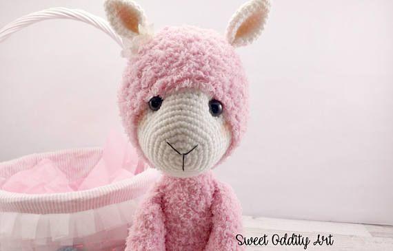 Alpaca Crochet Pattern Alpaca Llama Crochet Pattern Crochet