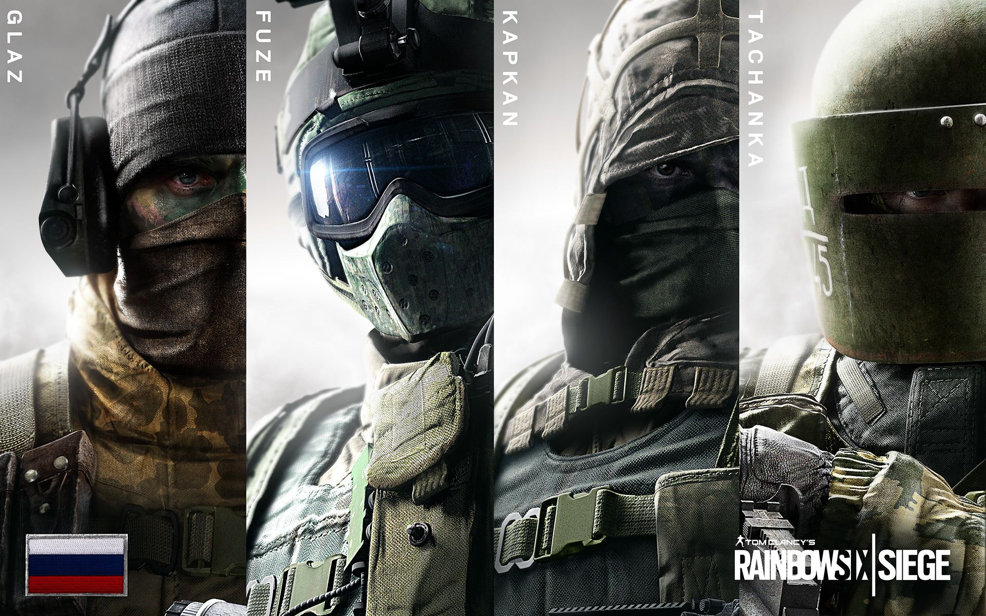 R6s Russian Operators Tom Clancy S Rainbow Six Rainbow Six