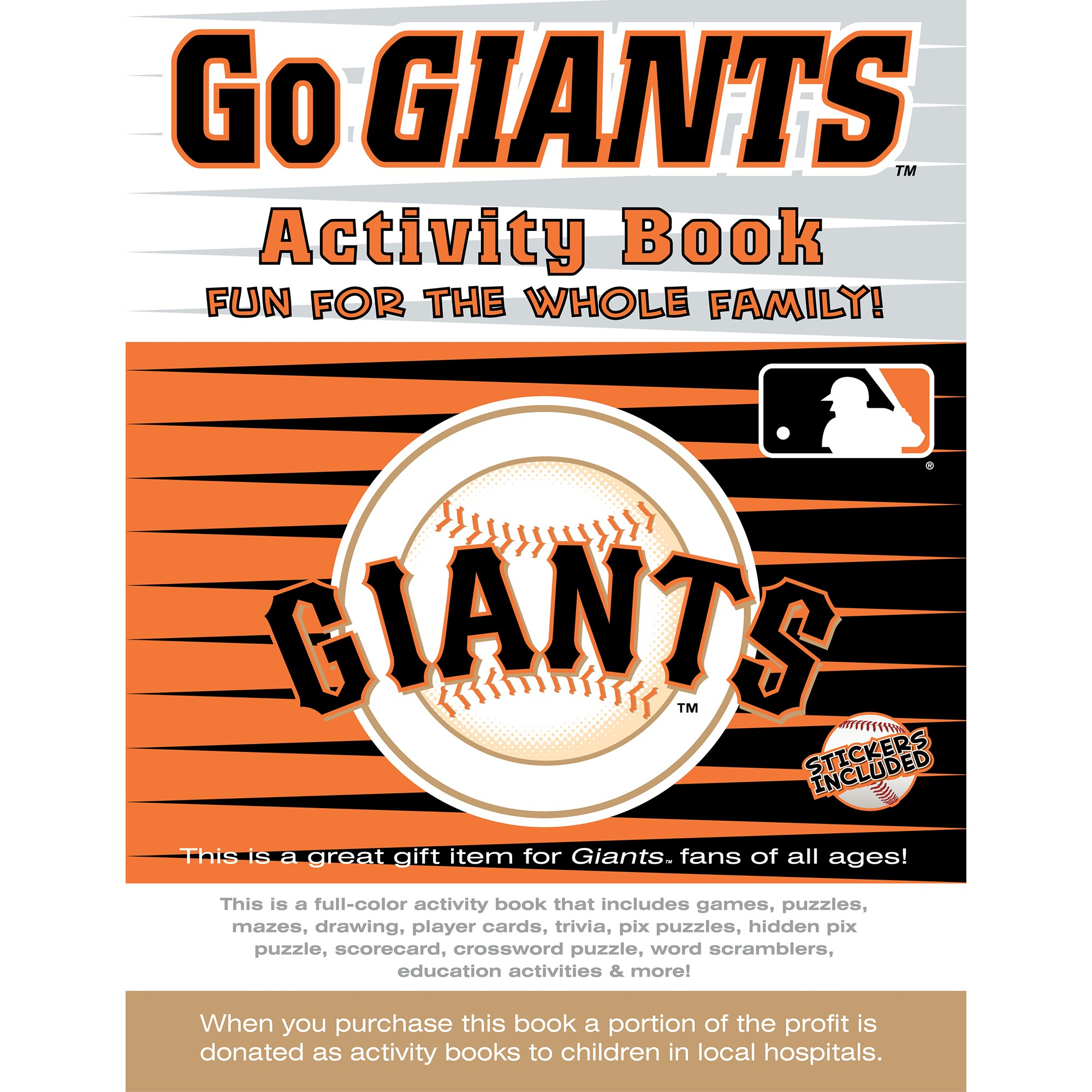 Giants Activity Book
