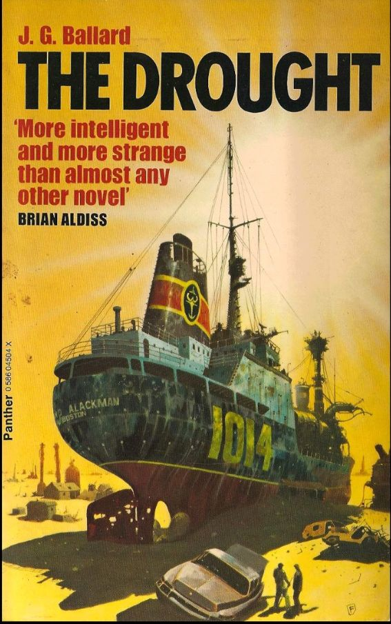 Ballard The Drought | 70s sci fi art, Science fiction illustration ...