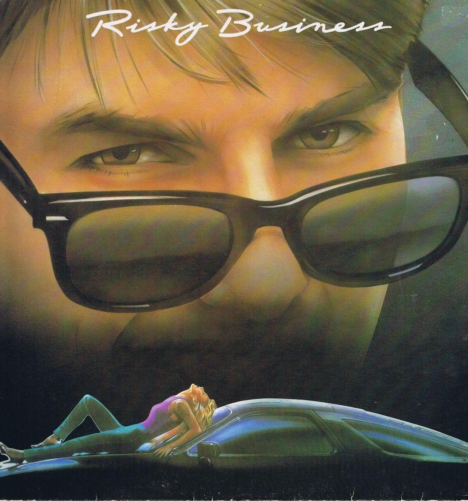 Risky Business – Soundtrack (Tangerine Dream) – LP #tangerinedream