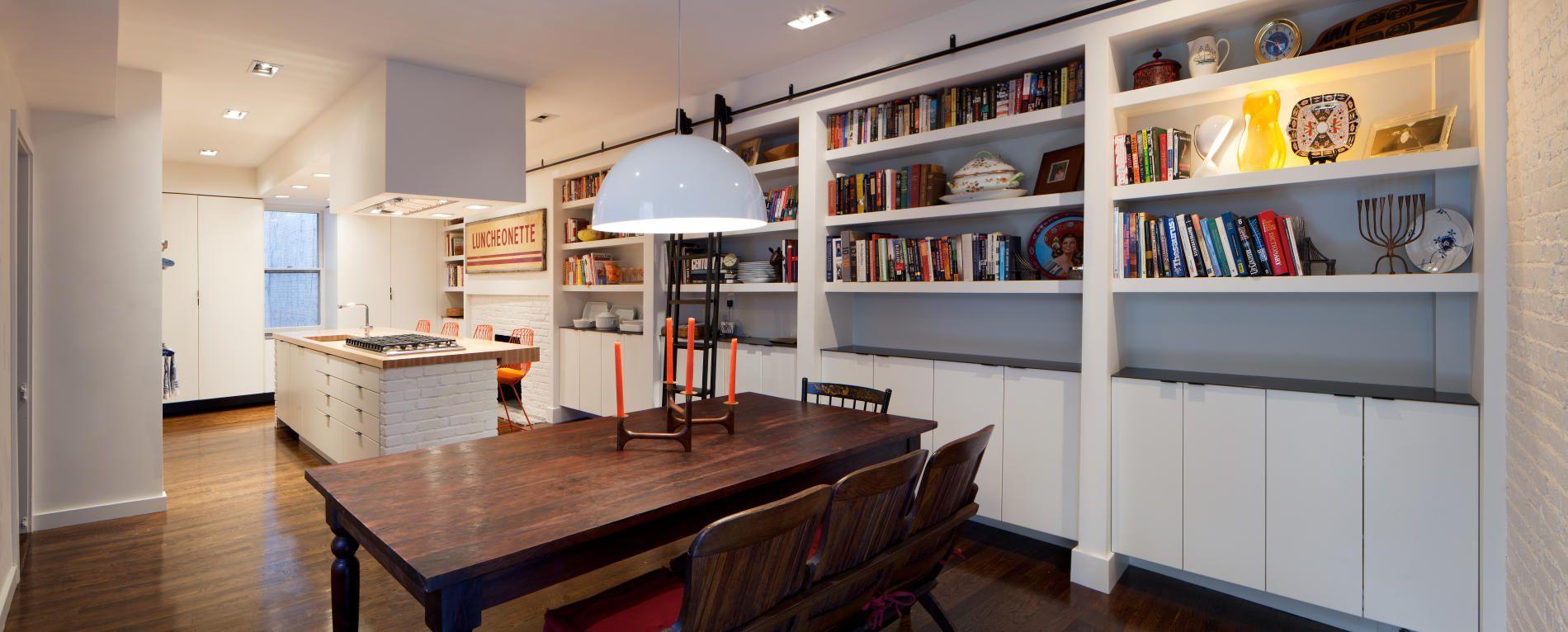 Bunker Workshop Kitchen And Dining Room