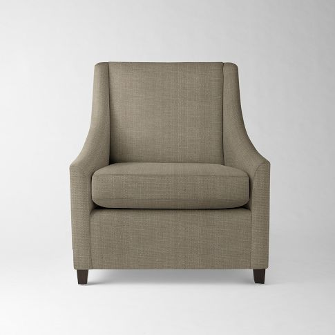 Sweep Armchair | Armchair, Upholstered arm chair, Chair