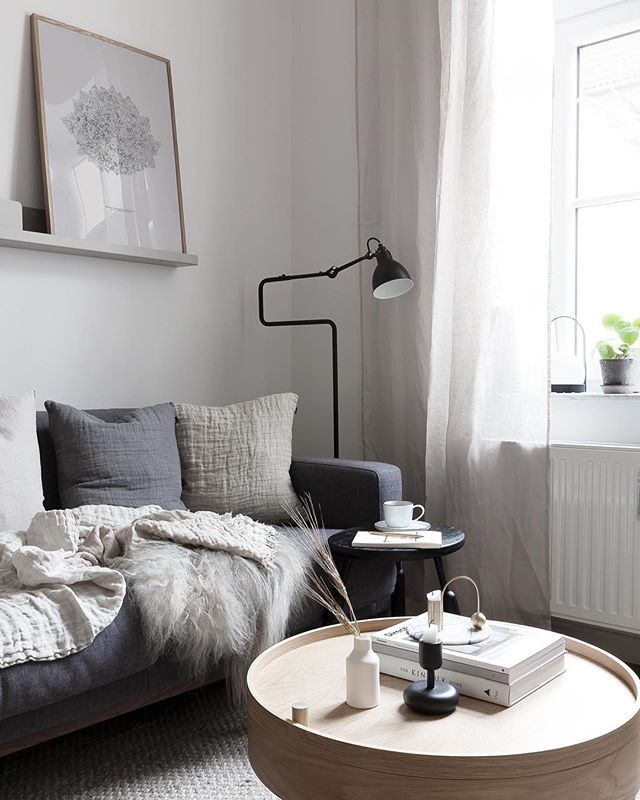 Did a small update to our living room with dalsland - Living room curtains with matching pillows ...