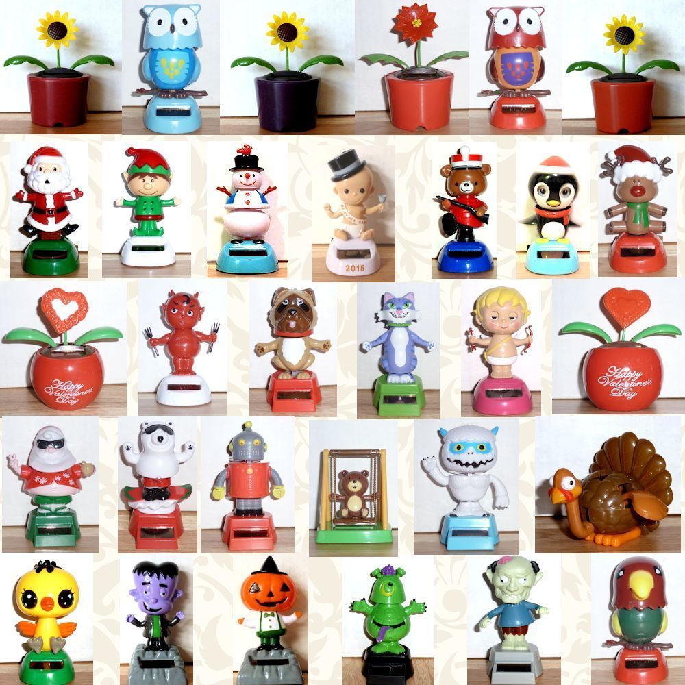 Solar Power Dancing Cupid Valentine Flowers Robot Owl More You Choose New Solarpowerdancingtoys Solar Powered Toys Solar Power Diy Dancing Toys