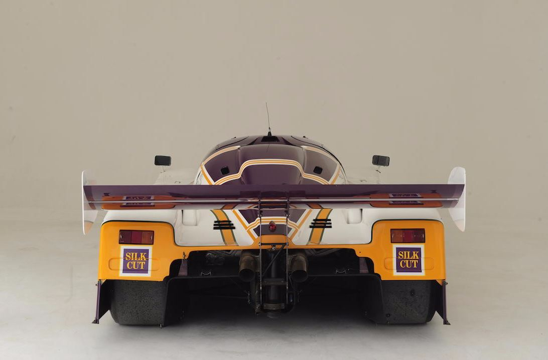 THE EX-WALKINSHAW RACING, SPA 1000KM WINING, 1987 SILK CUT JAGUAR XJR-8 ENDURANCE RACING GROUP C COUPÉ Chassis no. XJR8/3.87