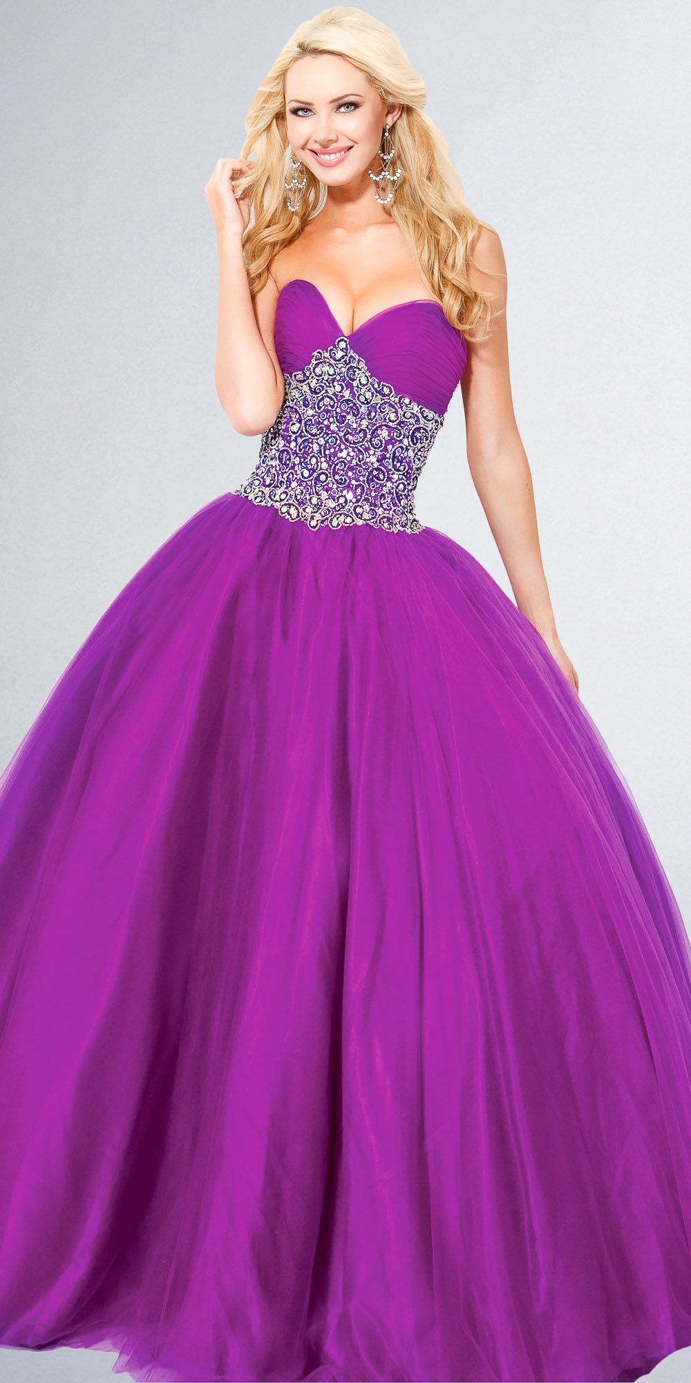 Strapless Ball Gown | Playing dress up! | Pinterest | Trajes ...