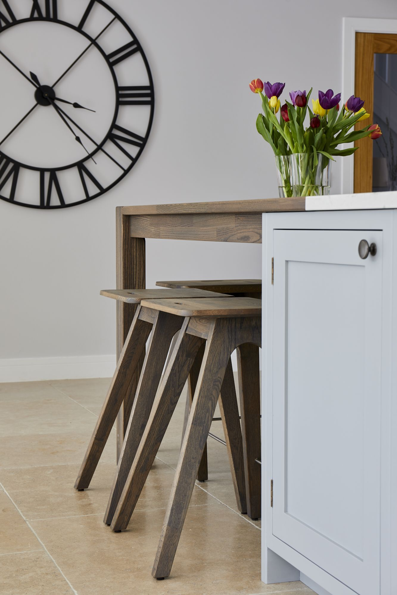 beautiful traditional british shaker kitchen, including